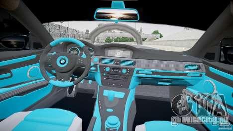 BMW E92 для GTA 4 вид сзади