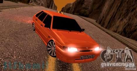 Ваз 2114 Juicy Orange для GTA San Andreas