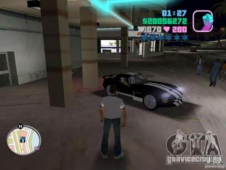 Dodge Viper Hennessy 800 для GTA Vice City