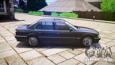 BMW 740i (E38) style 37 для GTA 4 вид слева