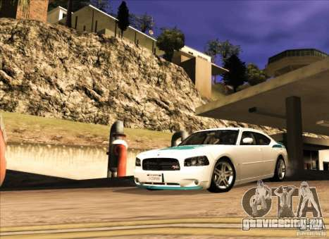 Dodge Charger R/T Daytona для GTA San Andreas вид слева