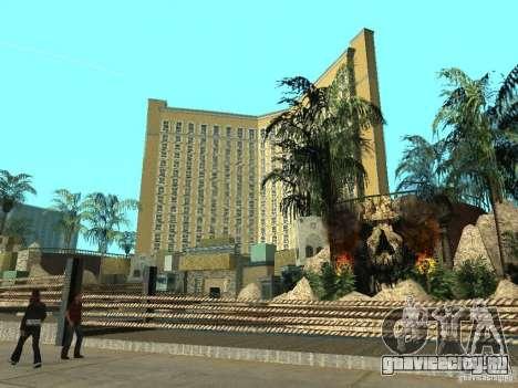 Новые текстуры для казино Визаж для GTA San Andreas четвёртый скриншот