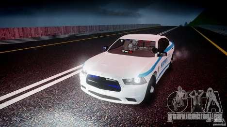 Dodge Charger NYPD 2012 [ELS] для GTA 4 вид снизу