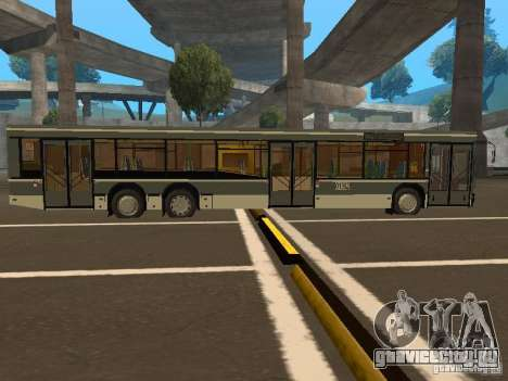 Маз 107.066 для GTA San Andreas вид сзади слева