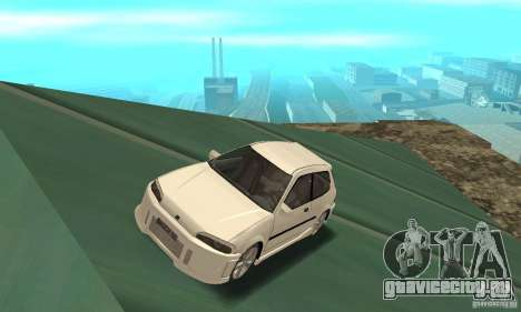 Honda Civic SiR II Tuning для GTA San Andreas