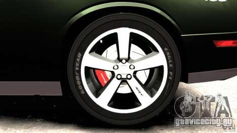 Dodge Challenger SRT8 392 2012 Police [ELS][EPM] для GTA 4 салон
