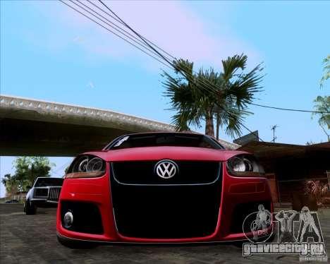 Volkswagen Golf MK5 GTI Stance для GTA San Andreas вид справа