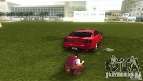 Ford Taurus для GTA Vice City вид слева