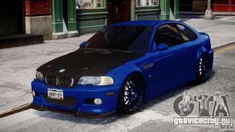 BMW M3 E46 Tuning 2001 для GTA 4
