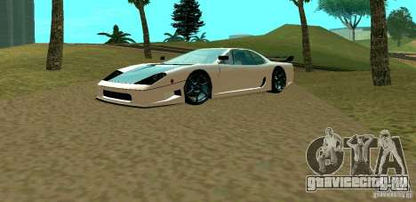 New Turismo для GTA San Andreas вид слева