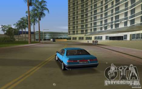 Alfa Romeo 164 для GTA Vice City вид слева