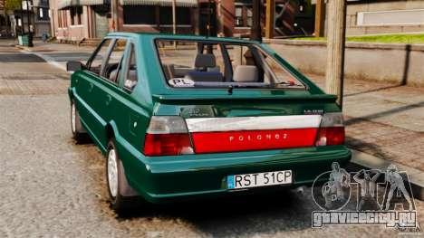 Daewoo-FSO Polonez Caro Plus 1.6 GSI 1998 Final для GTA 4 вид слева