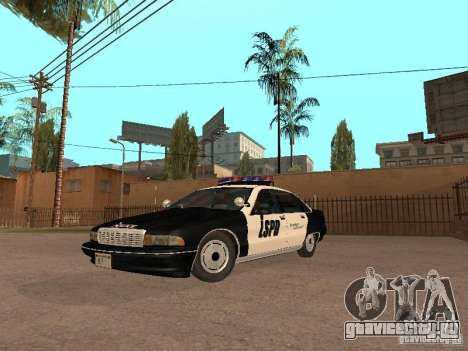 Chevrolet Caprice 1991 LSPD для GTA San Andreas
