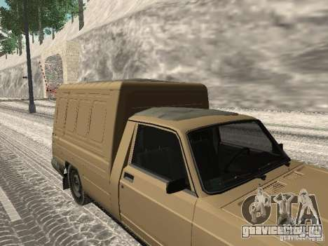 ИЖ 27175 Зимняя версия для GTA San Andreas вид сзади слева