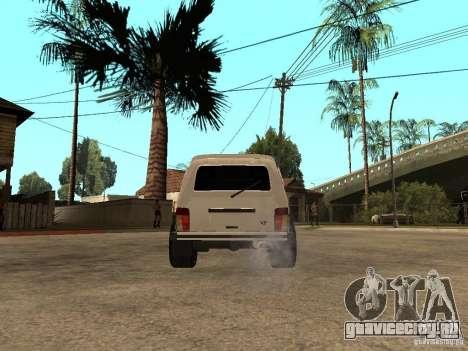 ВАЗ Нива 21213 Light Tuning для GTA San Andreas вид сзади слева