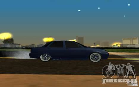 ЛАДА ПРИОРА tuning для GTA San Andreas вид сзади слева