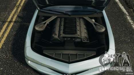 Chevrolet Camaro ZL1 2012 v1.2 для GTA 4 вид сверху