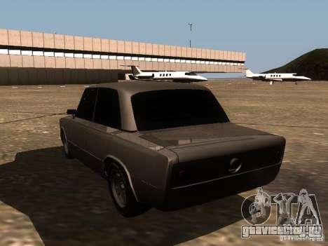 ВАЗ 2106 Drag Racing для GTA San Andreas вид сзади слева