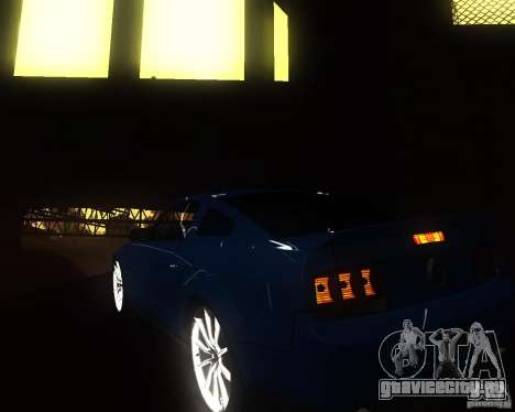 Shelby Mustang 2009 для GTA San Andreas вид справа