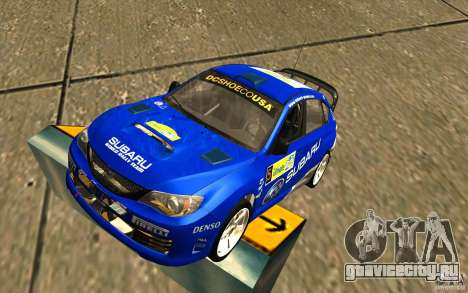 Новый винил к Subaru Impreza WRX STi для GTA San Andreas