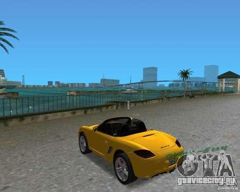 Porsche Boxster 2010 для GTA Vice City вид справа