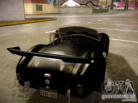 Shelby Cobra 427 для GTA San Andreas салон