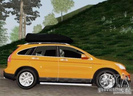 Honda CRV 2011 для GTA San Andreas вид сзади слева
