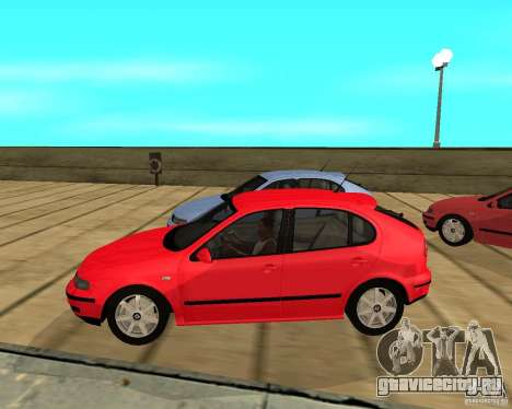 Seat Leon 1.9 TDI для GTA San Andreas вид слева