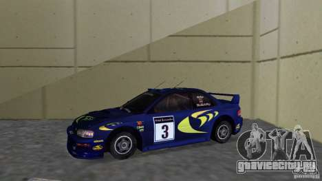 Subaru Impreza 22B Rally Edition для GTA Vice City вид слева
