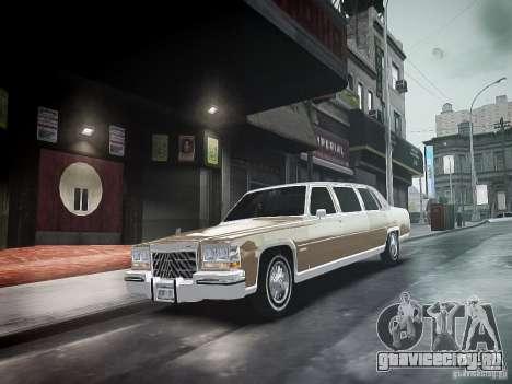 Cadillac Fleetwood 1985 для GTA 4