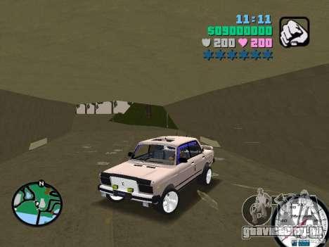 ВАЗ 2107 для GTA Vice City