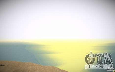 HD Вода v3.0 для GTA San Andreas двенадцатый скриншот