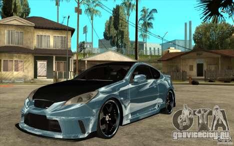 Hyundai Genesis Tuning для GTA San Andreas