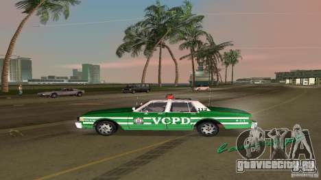 Ford LTD Crown Victoria 1985 Interceptor LAPD для GTA Vice City вид справа
