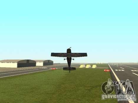Новый самолёт Dodo для GTA San Andreas салон