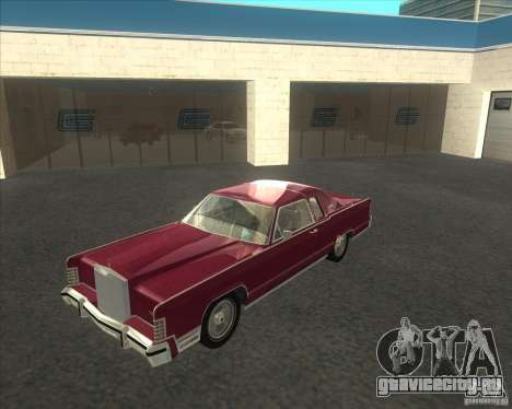 Lincoln Continental Town Coupe 1979 для GTA San Andreas