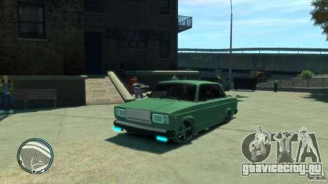 ВАЗ 2107 LENSO для GTA 4
