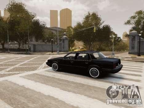 Oldsmobile Cutlass Ciera 1993 для GTA 4 салон