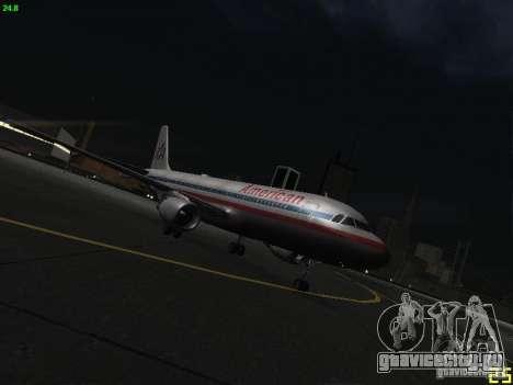 Airbus A320 для GTA San Andreas