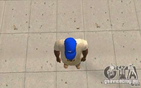 Кепка intel для GTA San Andreas