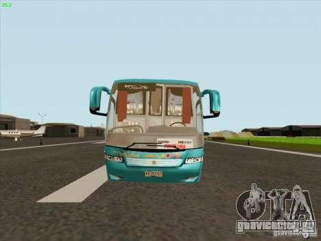 Mercedes-Benz Vissta Buss LO для GTA San Andreas вид сзади слева