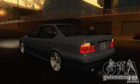 GTA IV Merit для GTA San Andreas вид сзади слева