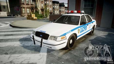 Ford Crown Victoria CVPI-V2.5V для GTA 4 вид сзади