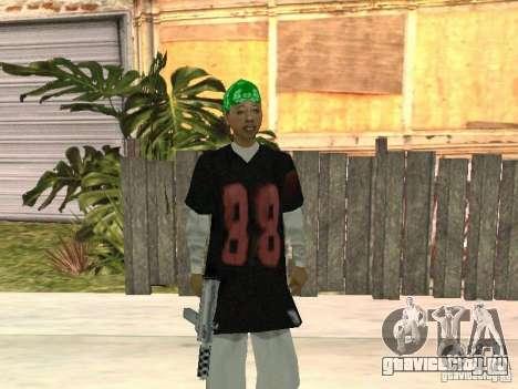 Новые скины банды Grove Street для GTA San Andreas
