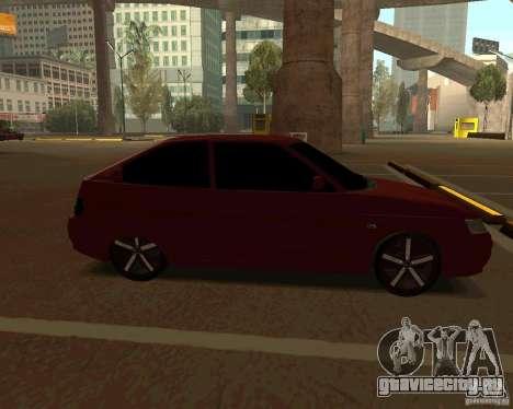 ВАЗ 2112 купе v.2 для GTA San Andreas вид слева