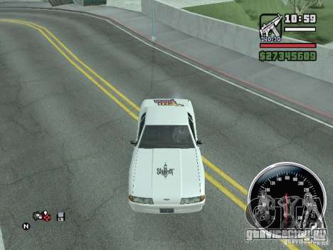 Винил для Elegy для GTA San Andreas вид справа