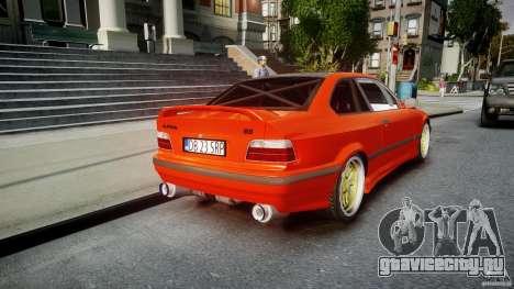 BMW E36 Alpina B8 для GTA 4 вид сверху