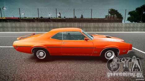 Mercury Cyclone Spoiler 1970 для GTA 4 вид слева