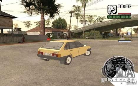 ВАЗ 21093i для GTA San Andreas вид справа