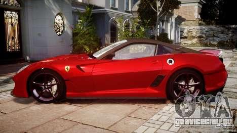 Ferrari 599 XX для GTA 4 вид слева
